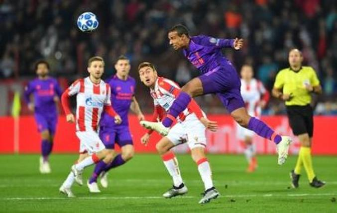 Image result for Red star vs liverpool