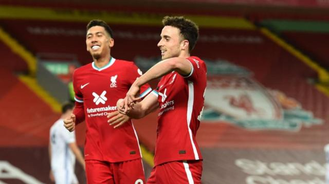 Liverpool 3-0 Leicester City: Reds set new unbeaten home record as Jota  streak continues