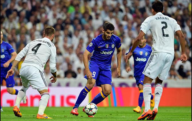 Champions League With Morata Goal Juventus Ties 1 1 With