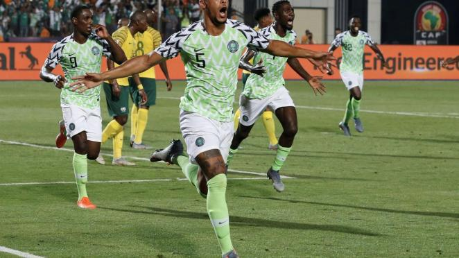 Image result for super eagles score against bafana afcon