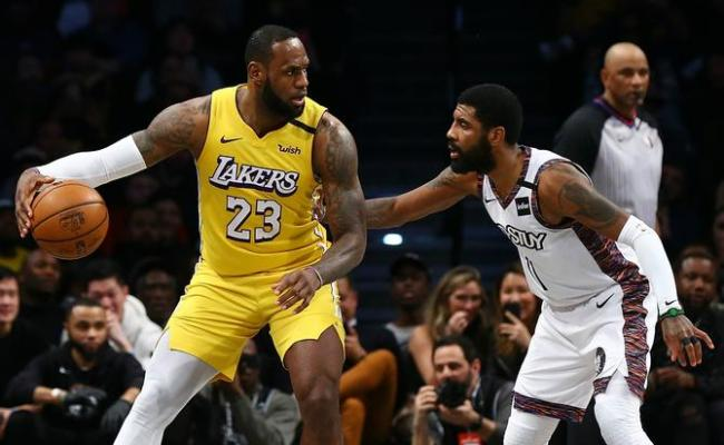 Lebron Outscores Irving In Lakers Victory Doncic Lifts Mavs