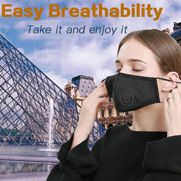 Replaceable Filter Adjustable Washable And Reusable Face Mask