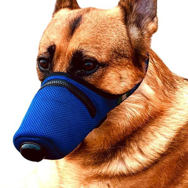 Dog Waterproof PM2.5 Double Filter Breathable Activated Carbon Face Mask