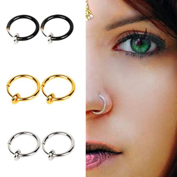 Non Piercing Fake Nose Ring