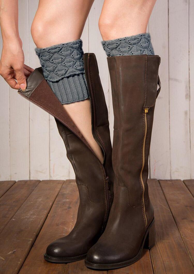 Boot Cuffs Knitted Leg Warmers Socks