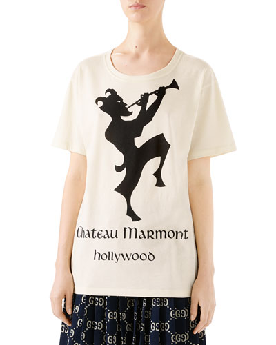 Oversized Chateau Marmont T-Shirt
