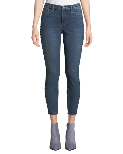 The Caballo Stiletto Jeans with Studded Sides