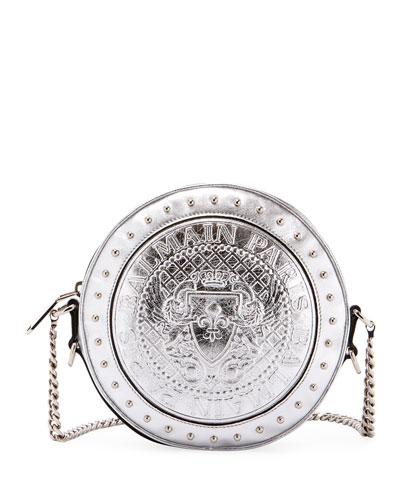 dd5611e4019e Disco Metallic Circle Crossbody Bag