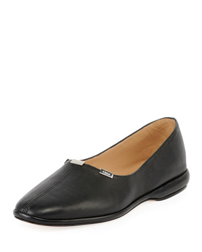 Skye Slipper with Small Metal Detail