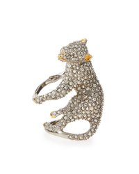 Alexis Bittar Elements Crystal Panther Ring