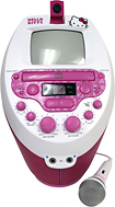 Hello Kitty Super CD Karaoke System with Monitor and Video Camera