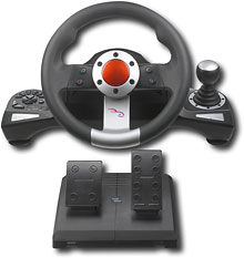 Rocketfish™ - Pro Wireless Racing Wheel for PlayStation 3 79.99