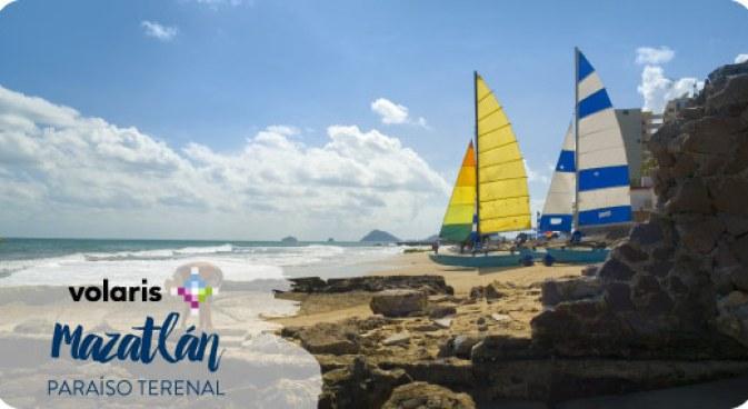 Vuelos a Mazatlán por Volaris   Más vuelos en BestDay