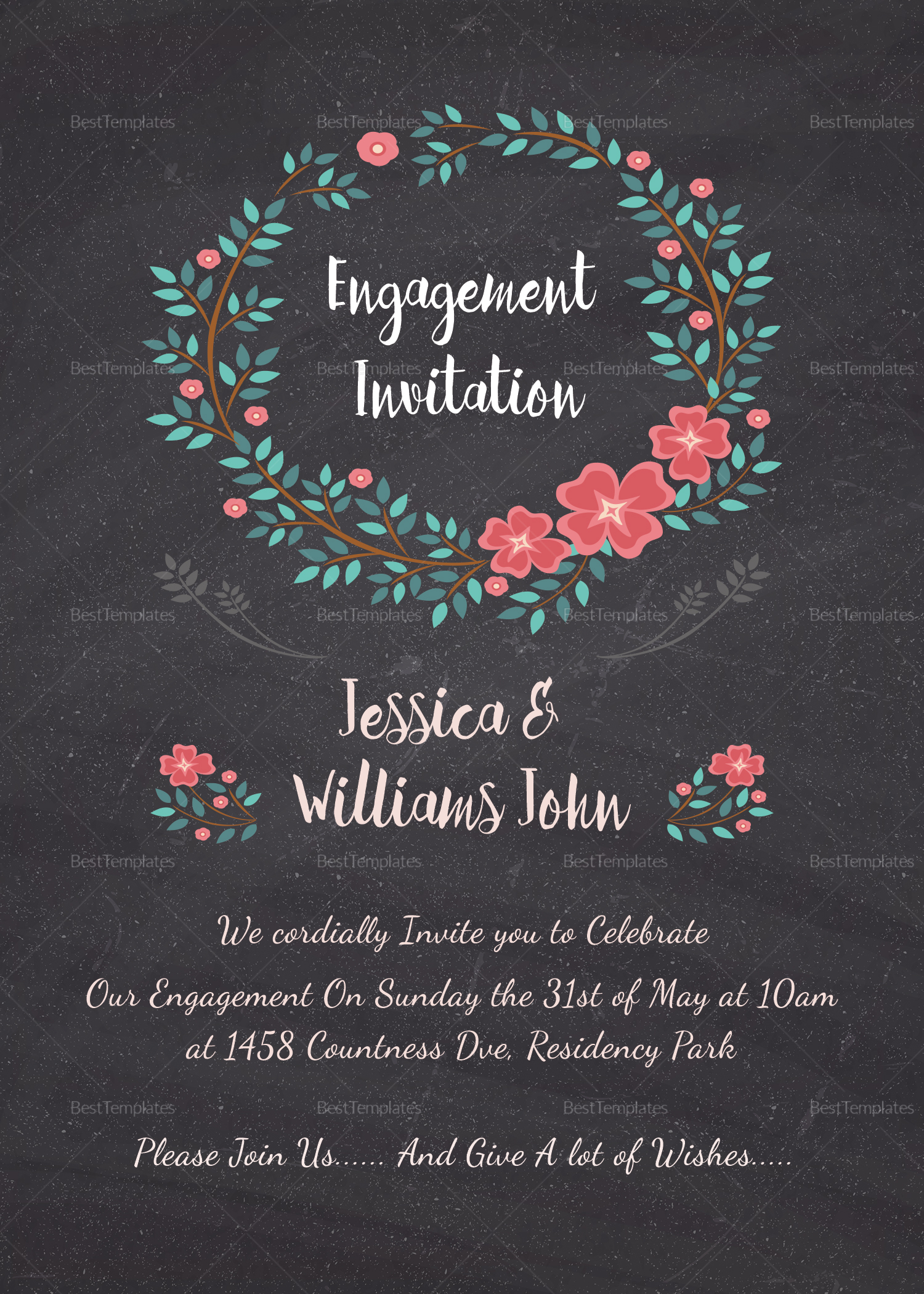 enagagement invitations