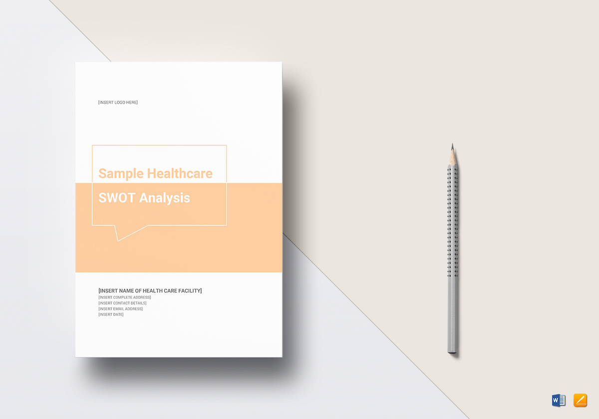 Healthcare Swotysis Template In Word Docs