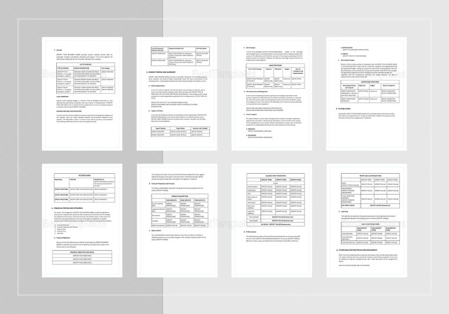 Trucking Business Plan Template in Word, Google Docs, Apple Pages