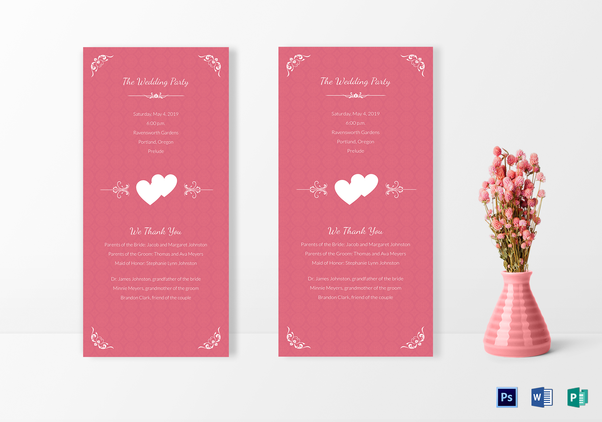 simple wedding invitation card design