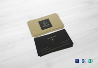 Accountant Business Card Design Template in PSD, Word ...