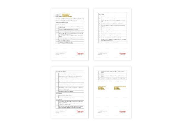Restaurant Employee Onboarding Checklist Template in MS