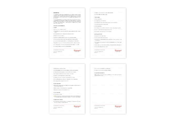 Restaurant Event Manager Job Description Template in Word