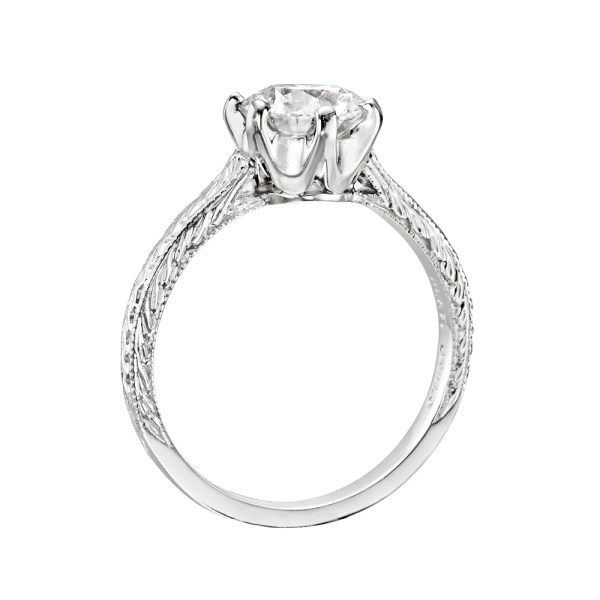 Round Brilliant Diamond Solitaire Ring Betteridge