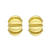 Seaman Schepps Yellow Gold Shrimp Earrings | Betteridge