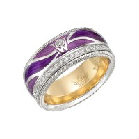 "Wellendorff ""Purple Wings"" Ring 