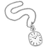 Pre-Owned Patek Philippe White Gold Pocket Watch on Chain