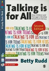 Talking Is for All: How Children and Teenagers Develop Emotional Literacy [With CDROM]