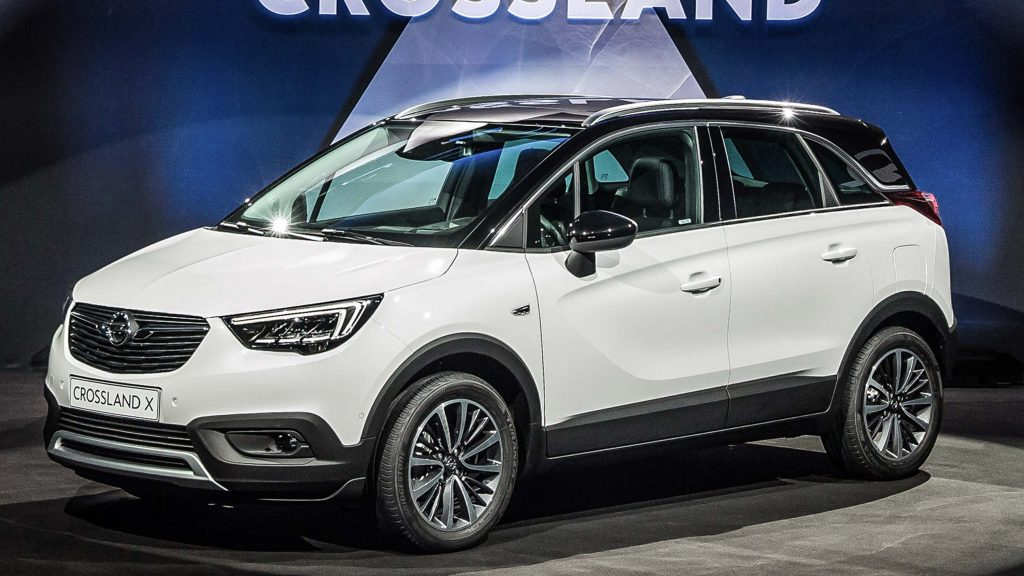 Opel Crossland X 2017 First Generation EU Photos