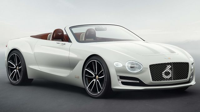2019 Bentley Continental Gtc Previewed By Exp 12 Speed 6e