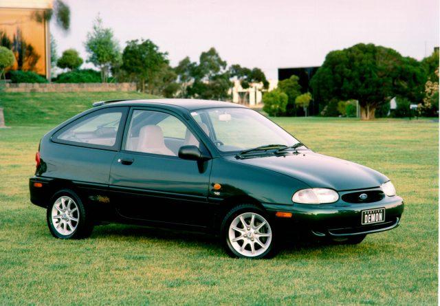 ford festiva 1998 facelift