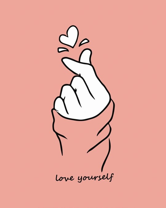 Download Buy Bts Love Yourself Pink Printed 3/4 Sleeve T-Shirt For ...