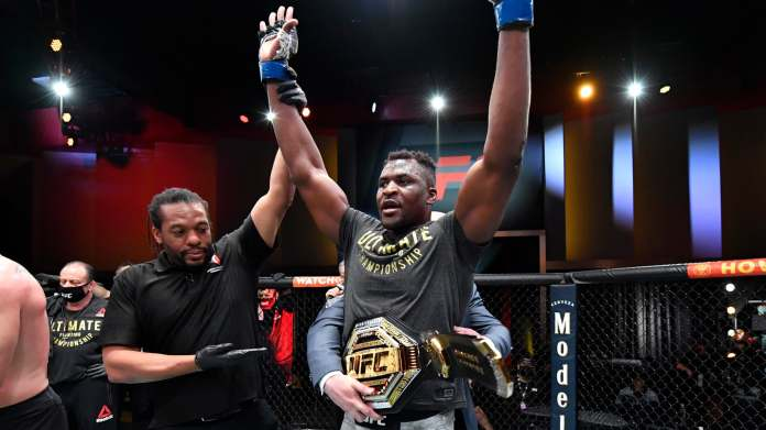 UFC: Ngannou terrace Miocic and becomes king of heavyweight   The Indian  Paper