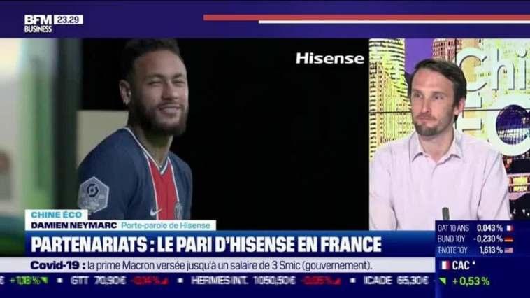 Chine Éco : Partenariats, le pari d'Hisense en France par Erwan Morice