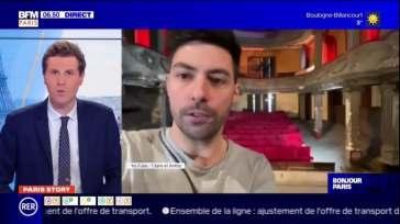 Paris Story: la vidéo de deux artistes Franciliens face à la fermeture des lieux de culture