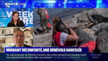 Migrant réconforté, une bénévole harcelée – 21/05