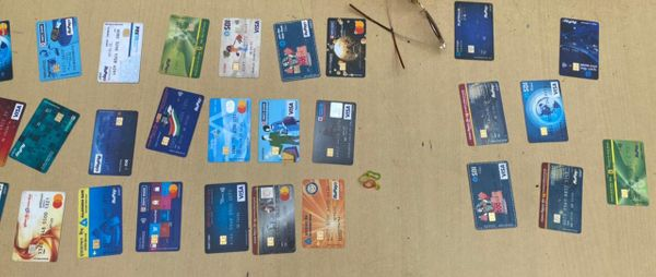 ATM card recovered from the accused.