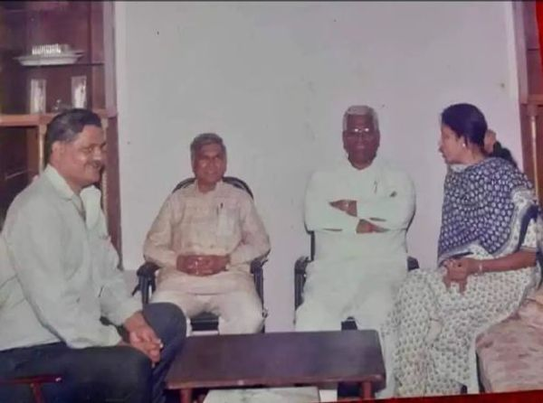 Mangubhai Patel contested the MLA election in 1990 and won.