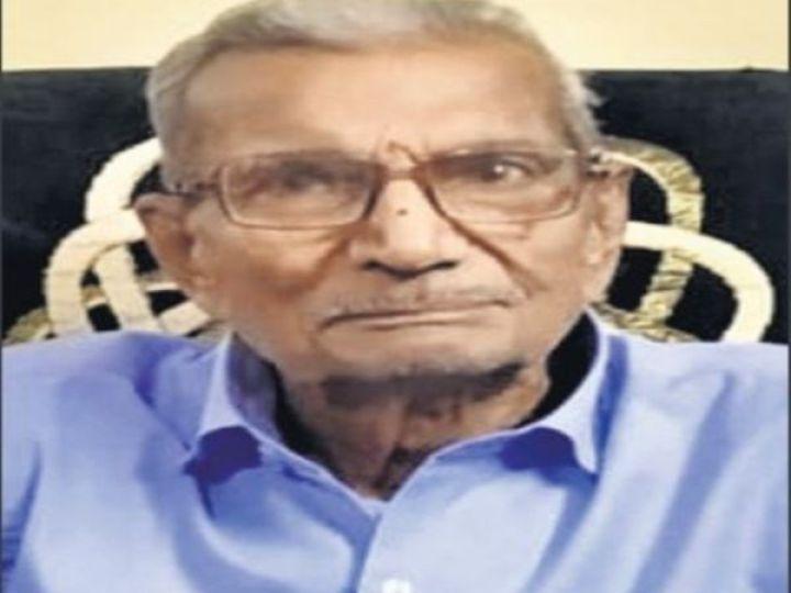 बुजुर्ग नारायण भाऊराव दाभाडकर - Dainik Bhaskar
