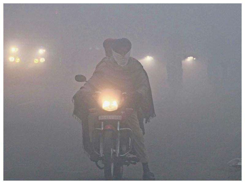 बठिंडा में घना कोहरा भी छाया हुआ है।