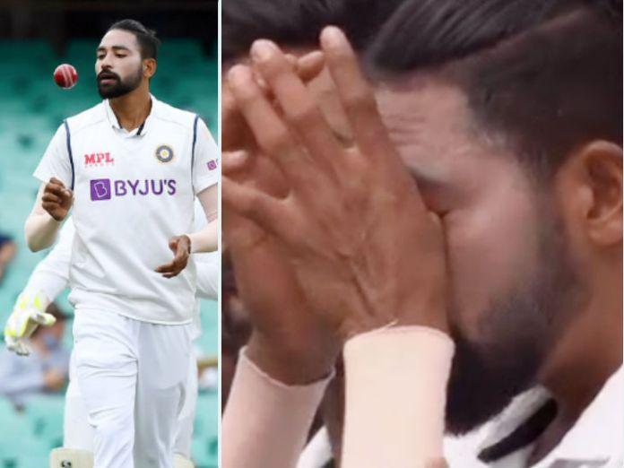 IND vs AUS सिडनी टेस्ट: राष्ट्रगान के दौरान मोहम्मद सिराज इमोशनल हुए, आंख से आंसू आने लगे; वीडियो वायरल