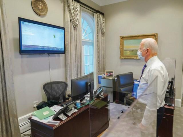 US President Joe Biden also saw the landing of the Perceivers.