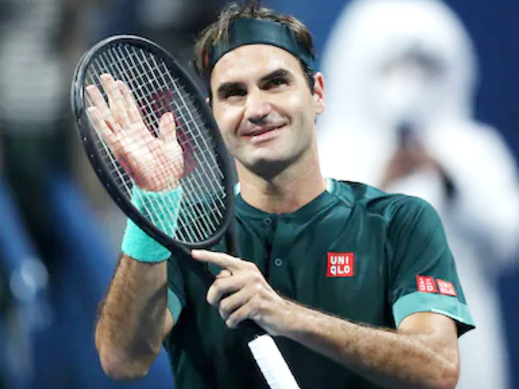 Federer withdraws name from Dubai Open: veteran tennis player said - need some more time for training; World No-42 was defeated in Qatar Open - Divya Bharat 🇮🇳