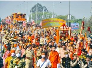 कुंभ में कोरोना से मौत: निर्वाणी अखाड़े के महामंडलेश्वर कपिल देव की संक्रमण से जान गई, देहरादून में चल रहा था इलाज