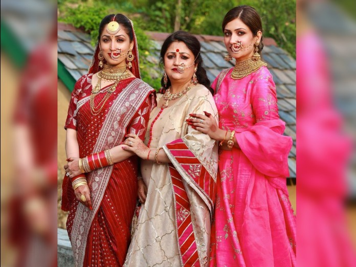 Yami's wedding secrets: Yami wore mother Anjali's 33-year-old silk sari, completed the look with her grandmother's chunari