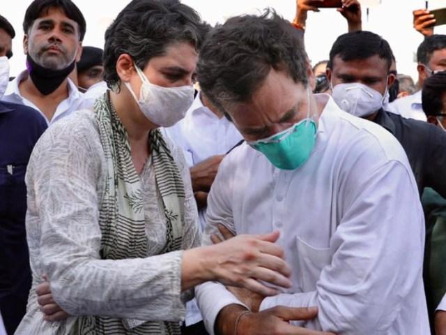 Instead of Rahul Gandhi, Priyanka Gandhi has now taken over the command of UP.