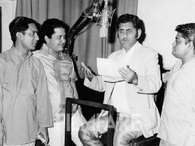First made a career in radio then films.  credit: filmfare