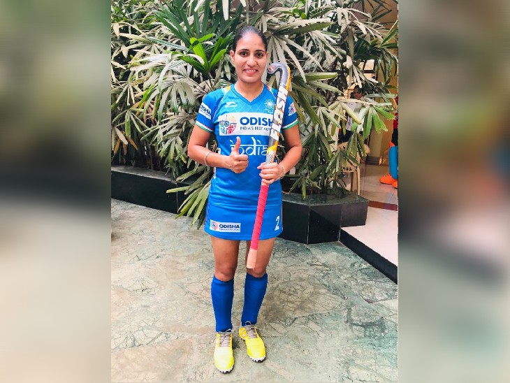 Gurjit Kaur has been a part of Team India in games like World Cup, Common Wealth.