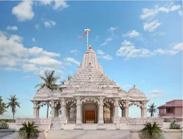 30 करोड़ की लागत से बना पार्वतीजी मंदिर का डिजाइन।